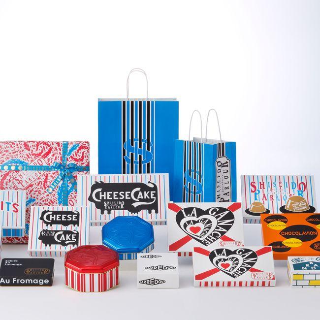資生堂パーラー洋菓子シリーズのパッケージなどを25年ぶりに一新