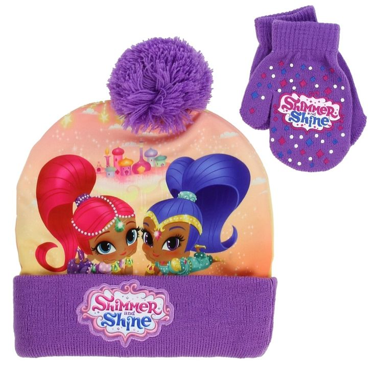 Color Purple Size Toddler Made From 100% Acrylic / Exterior: 100% Polyester Brand Nick Jr Shimmer And Shine Officially Licensed Nick Jr Shimmer And Shine Toddler Clothes