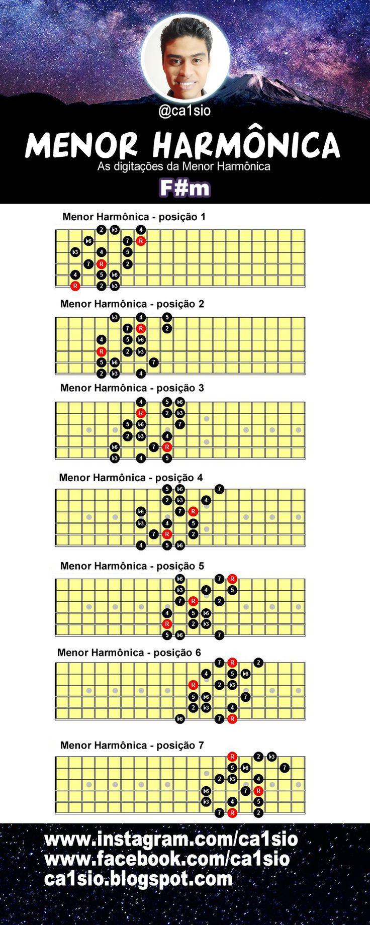 MENOR HARMÔNICA - @ca1sio #ebook #music #musica #guitarra #violão #auladeguitarra #auladeviolao #pdfs #dicas #workshop #clinic #Improvisação #guitar #guitarlesson #musician