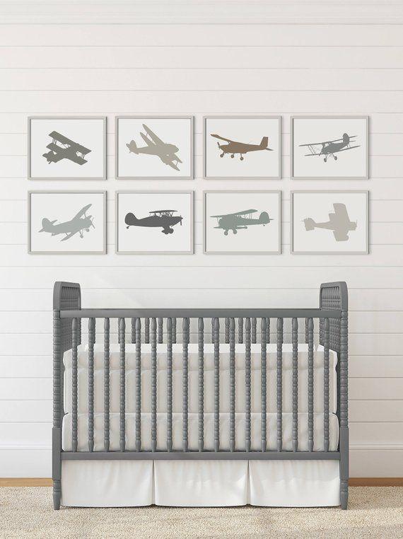 Vintage Airplane Nursery