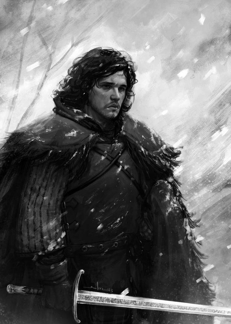 Jon Snow - Game of Thrones - Andrea Meloni