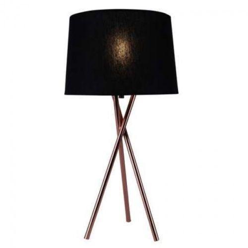 Copper Tripod Table Lamp