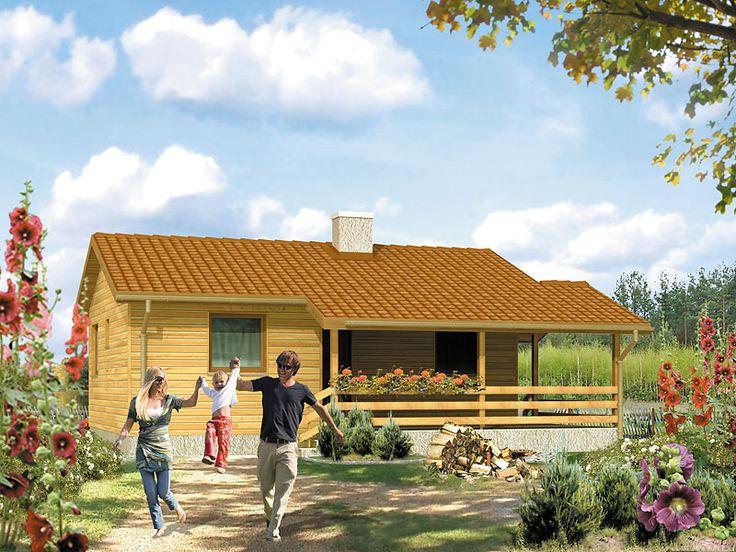 Best 3 to mały domek letniskowy (40 m2) zaprojektowany z myślą o 2 – 4 osobach. Łatwy i prosty w budowie, idealny na działkę rekreacyjną. Szczegóły projektu na stronie: http://www.domywstylu.pl/projekt-domu-best_3_dr-s.php. #best #domywstylu #mtmstyl #domyrekreacyjne #domydrewniane #projektygotowe
