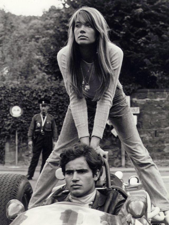 francoise hardy plus belles images en 1966