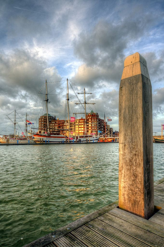 Lelystad; Enjoying the last sun in Batavia harbour | Flickr - Photo Sharing!