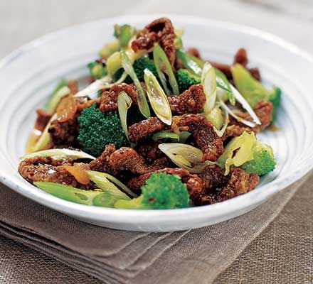 Crispy chilli beef with broccoli recipe - Recipes - BBC Good Food