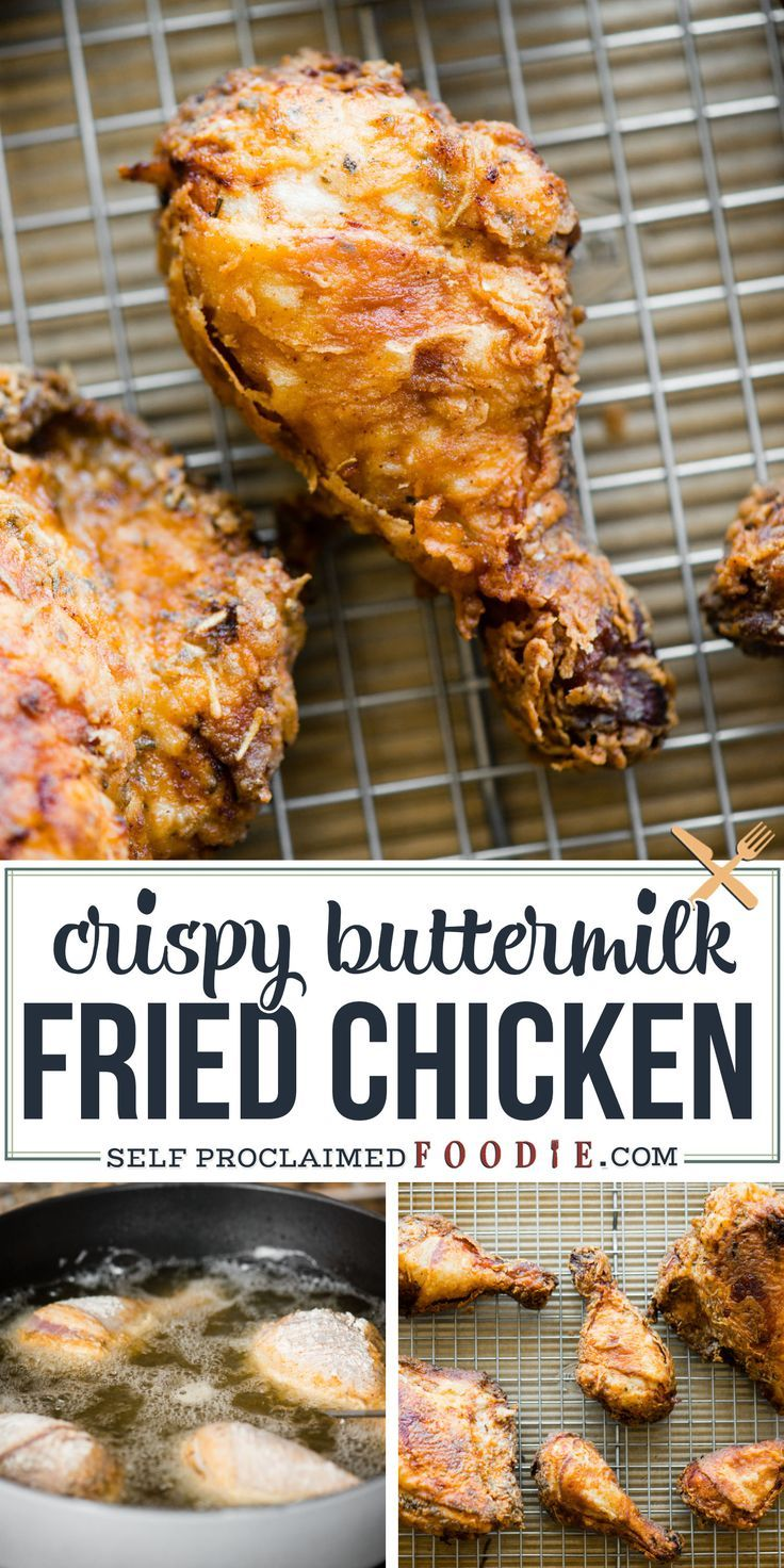 Buttermilk Fried Chicken In 2020 Easy Chicken Recipes Buttermilk Fried Chicken Chicken Recipes