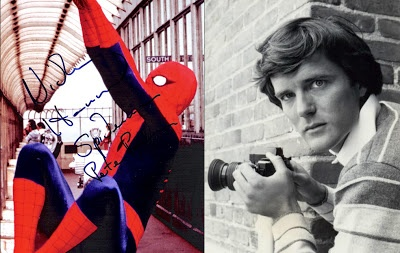 Collectors Treasure of the Day - Happy Birthday Nicholas Hammond!   Happy birthday today to Nicholas Hammond, the American-born Australian actor best known for his roles as Friedrich von Trapp in the film The Sound of Music, and as Peter Parker/Spider-Man on the CBS television series The Amazing Spider-Man. This 8 x 10 inch color photograph from the 1970s TV and film series The Amazing Spider-Man has been hand-signed in person at the Hollywood Show in Los Angeles by Hammond.