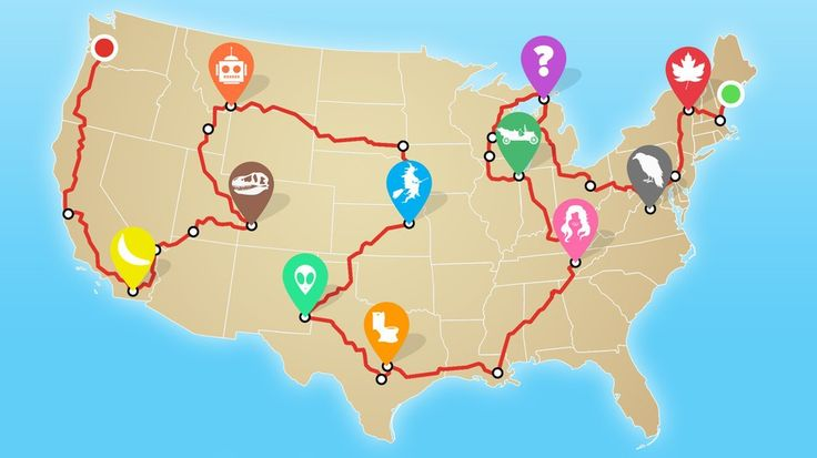 The miles covered up, down and around the country will be worth it to see these totally weird museums.