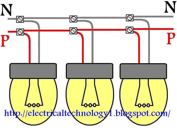 how to wire lights in parallel? electrical technology electricalhow to wire lights in parallel? electrical technology electrical wiring diagram, lighting, wire