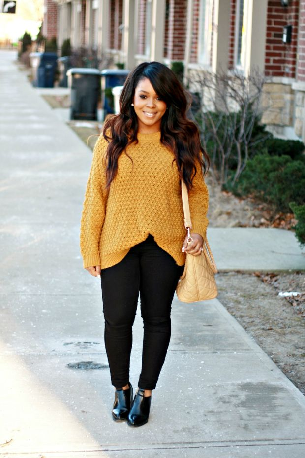 My Voguish Diaries | A Toronto Personal Style Blog: black + mustard