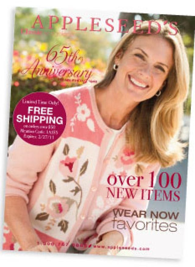 How to Get 26 Different Misses Clothing Catalogs for Free: Appleseed's Misses Clothing Catalog