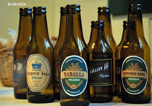 Etiquetas cerveza personalizadas