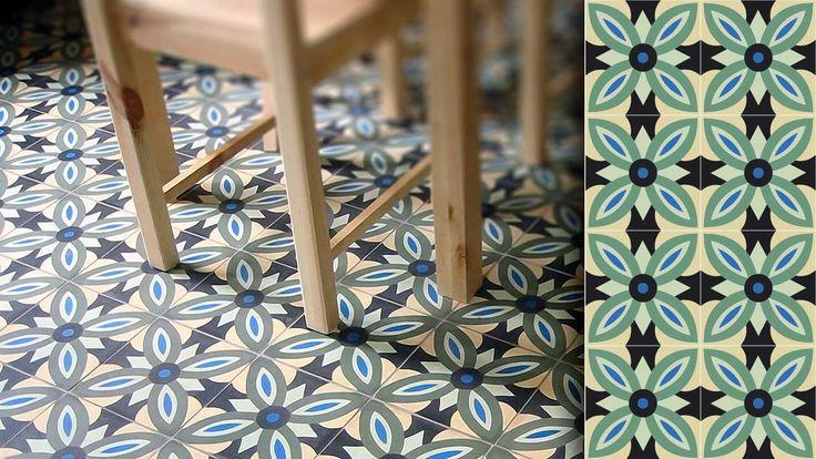 17 best images about carreaux ciment on pinterest wild birds moroccan bathroom and belle. Black Bedroom Furniture Sets. Home Design Ideas