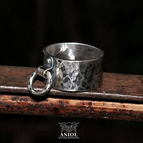 RING  100% Sterling Silver Ring  Rocker Ring  Handmade