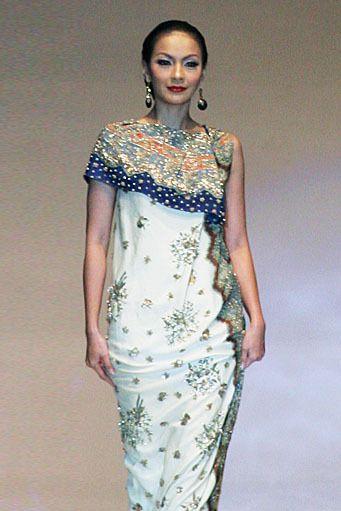 Batik dress by Danar Hadi