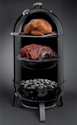 A charcoal grill smoker will give you the best of both worlds. The grilling and smoking