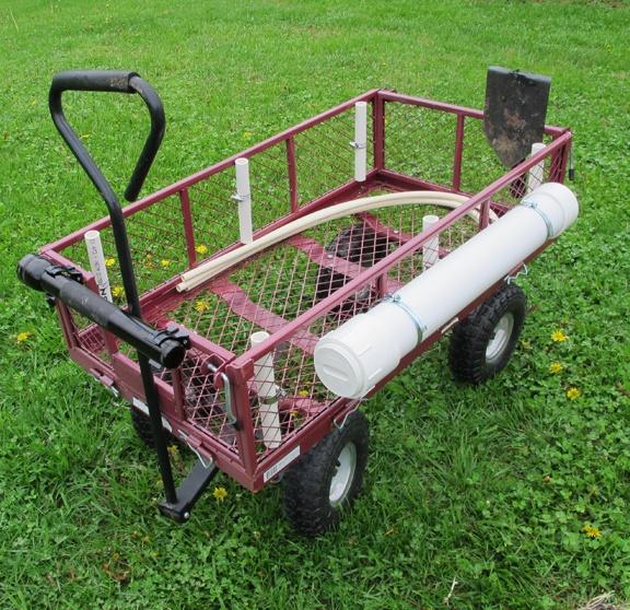 Bug Out Cart : Homemade bob cart bug out camping stuff pinterest