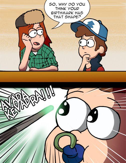 Oh my gosh Dipper. XD