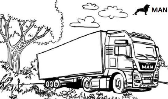 Truck Ausmalbilder Kinder Fur Malvorlagen In 2020 Ausmalbilder Ausmalen Coole Malvorlagen