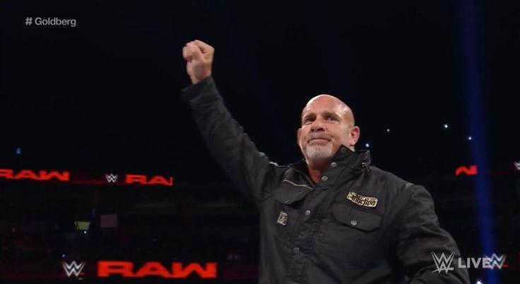 Goldberg Accepts Brock Lesnar's Challenge On WWE Raw