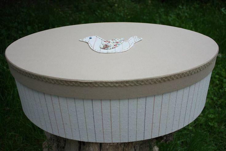 Συλλογή Βάπτισης Country Bird #Υφασμάτινο Κουτί Βάπτισης #Baptism #Christening Box Carriage #Baptism Fabric Keepsake Box #Christening Box #Linen Fabric Storage Box #Memory Box #Newborn Box #Country Bird Baptism Set