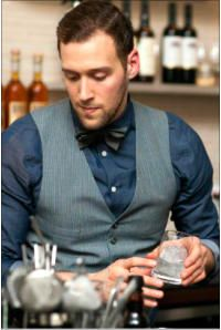 Hire a cocktail bartender in Perth www.hireabarman.com