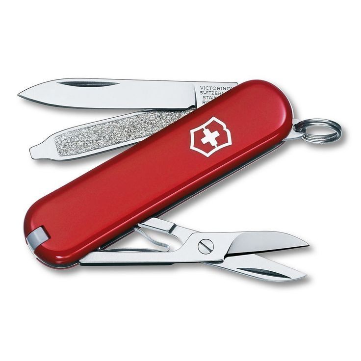 Victorinox Classic Swiss Army Knife, Red