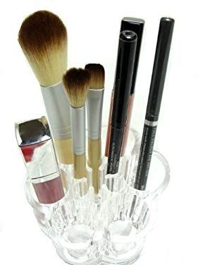 Flower Cosmetic and Makeup Brush Holder - Organizer Review