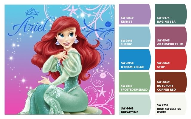 216 Best Images About Little Mermaid Bedroom On Pinterest