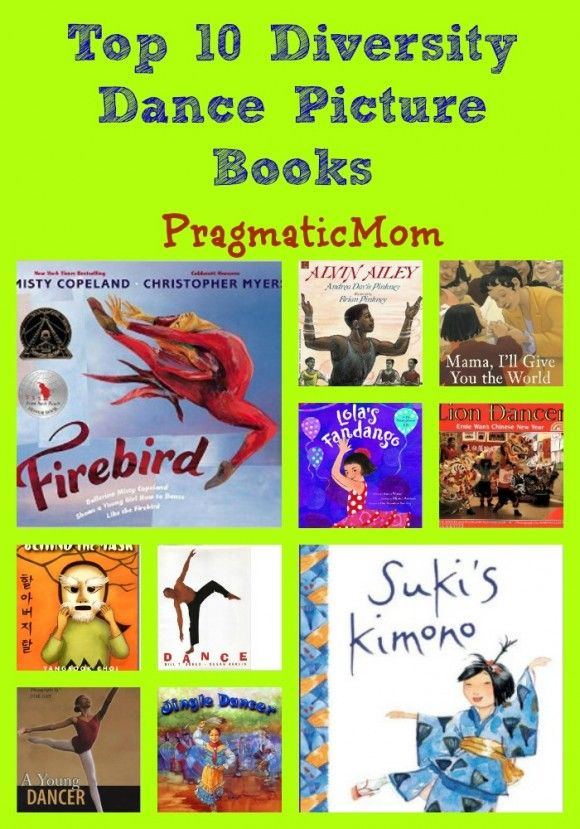 Top 10 Multicultural Dance Picture Books   In creating this list, I searched and searched for Asian American dance picture books. It's as if Asian American little girls don't take ballet ever. They are nowhere to be found in any dance book I could find. :: PragmaticMom