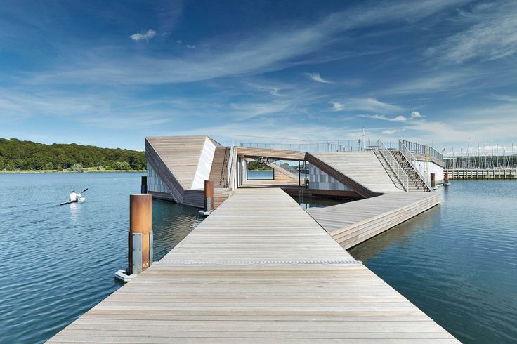 The Floating Kayak Club by FORCE4 Architects