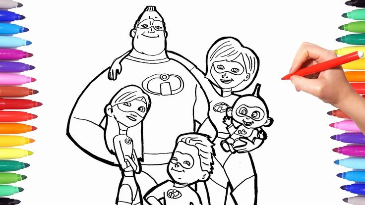 28 Dash Incredibles Coloring Page (2020) Coloring pages