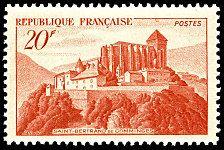 Saint-Bertrand-de-Comminges - Timbre de 1949