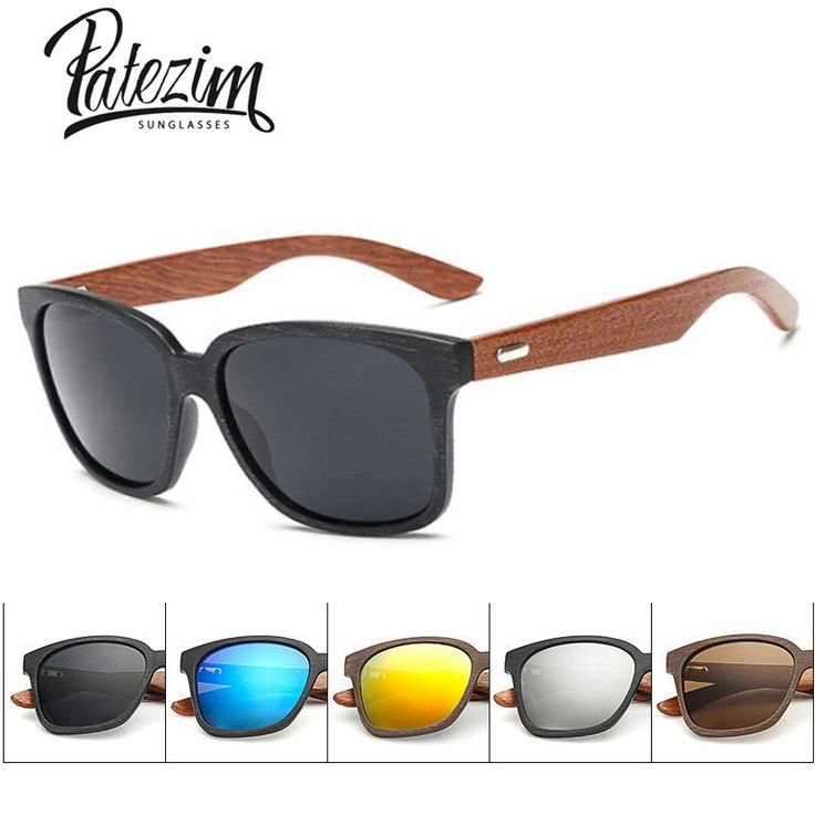 Rays Designer Wooden Frame Sunglasses Unisex  Wood Foot Men Goggles uv400 Sun Glasses For Women gafas de sol hombre