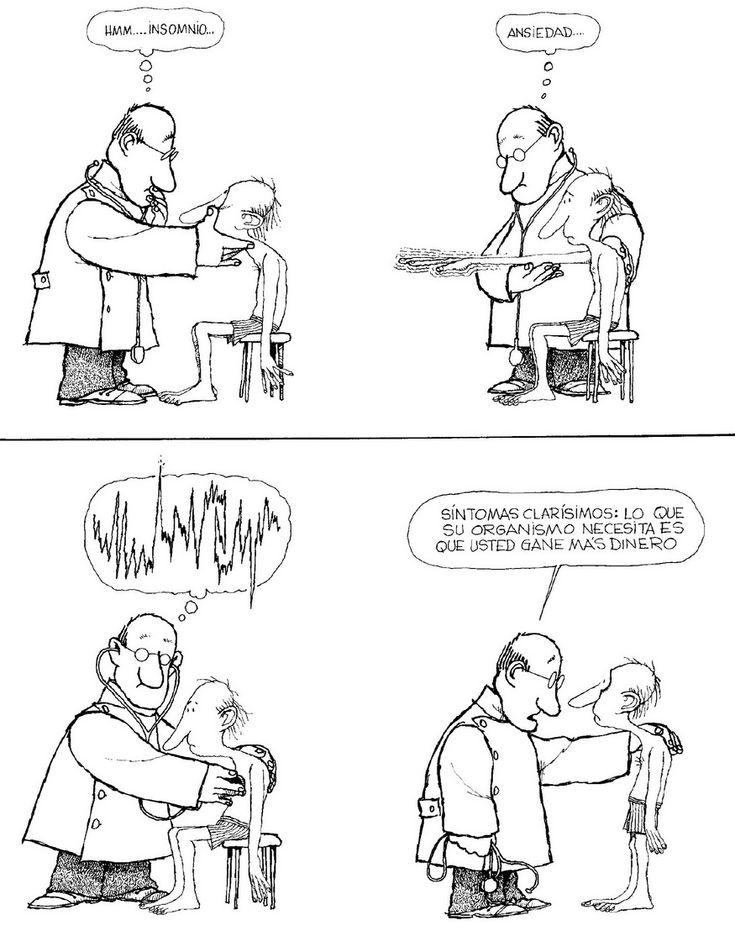quino caricaturas medicos - Buscar con Google