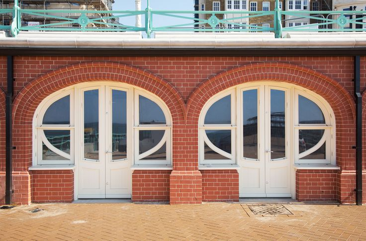 Structure BS5607, Kings Road Arches, Brighton, West Sussex Seth Evans Joinery English Sweet Chestnut / Canadian Maple / Finnish Icebirch