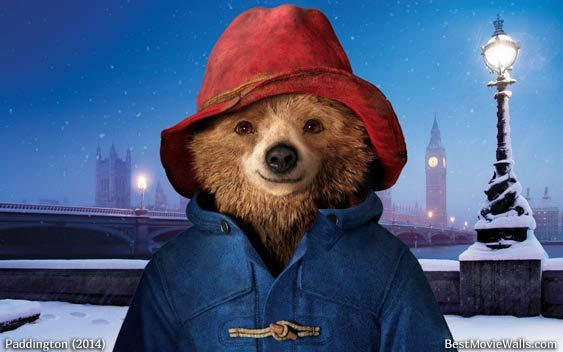 Paddington smiling on cold London night :]