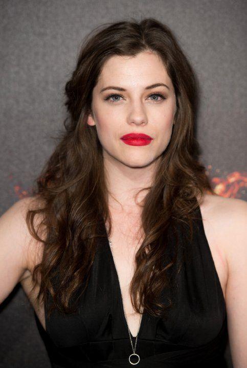 Jessica De Gouw at event of Hunger Games: Il canto della rivolta - Parte I (2014)