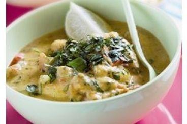 Lotte au curry au Cooking Chef