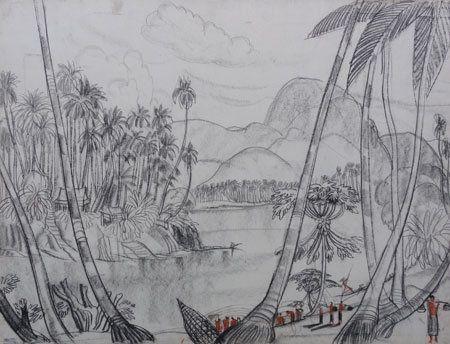 Laos Bords du Mékong