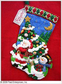 Bucilla ® Seasonal - Felt - Stocking Kits - Tree Shopping