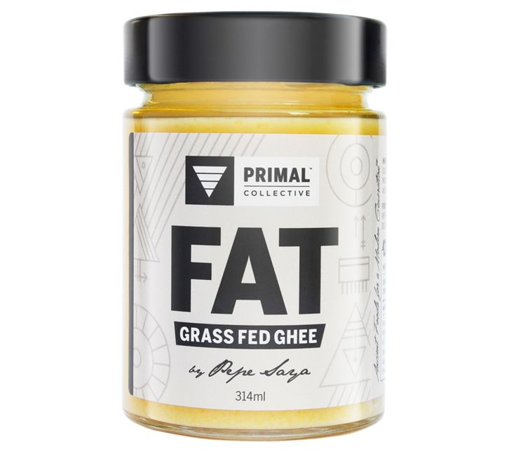 Primal Collective Fat grass fed ghee by Pepe Saya Australian clarified butter Paleo buy online
