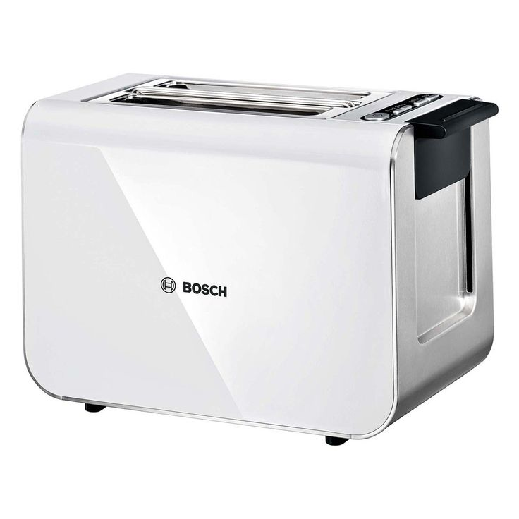 Ensure breakfast goes without a hitch with this sleek Styline Sensor toaster from Bosch. With Quartz glass mirror heating that ensures even heat distribution, the Styline Sensor toaster is perfect for