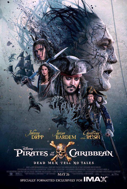 Johnny Depp kembali perani tokoh utama Film pirates of the caribbean 5: dead men tell no tales