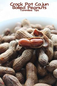 All-Day Cajun Boiled Peanuts Live in Louisiana for a while, there are lots of these for sale roadside.  An aquired taste!