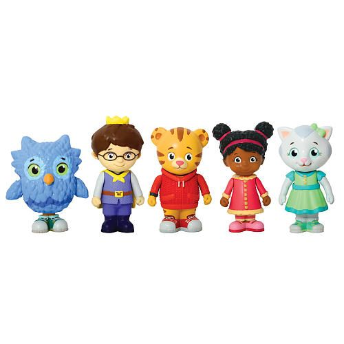 """Daniel Tiger Figure Multipack - Tolly Tots - Toys """"R"""" Us / Charlie would be in heaven!!"""