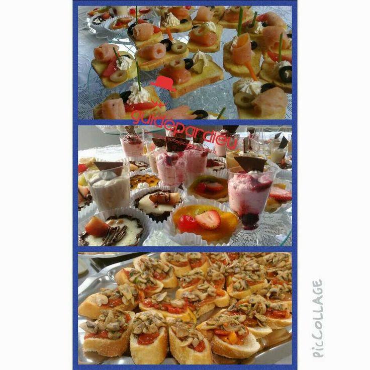 Todos los detalles en la comida para cualquier celebración