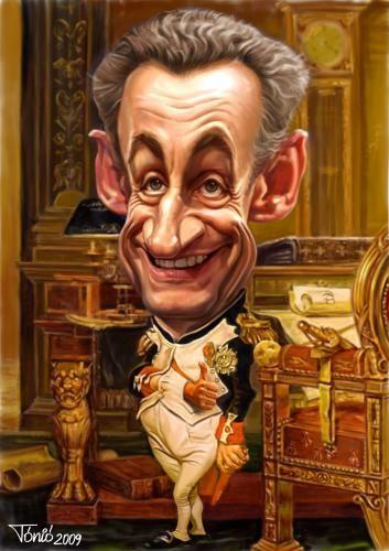 Caricature Nicolas Sarkozy