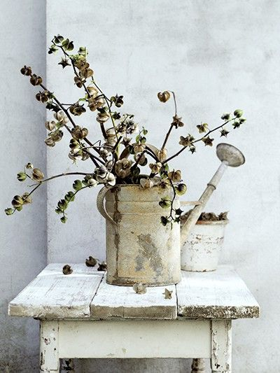 great DIY, imaginative way of using a watering can
